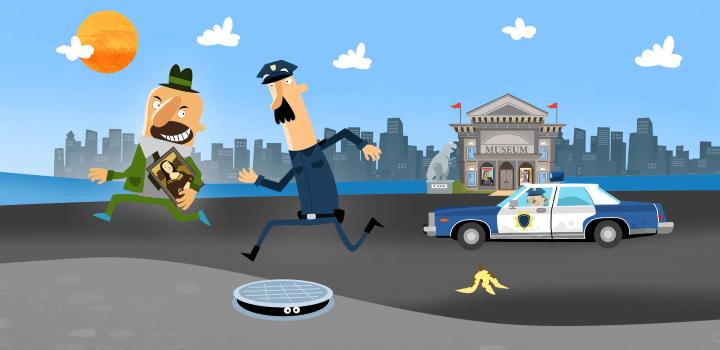 Маленькая полиция для детей