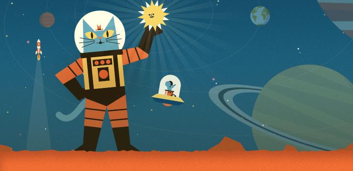 Солнечная система с Астрокотом